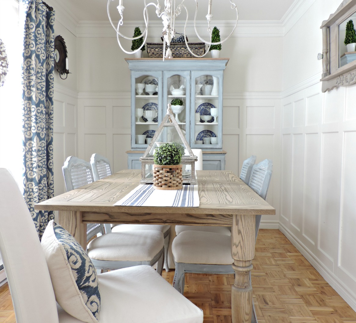 beautiful dining room makeover
