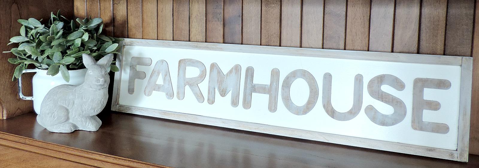 Affiche farmhouse facile à faire soi-même