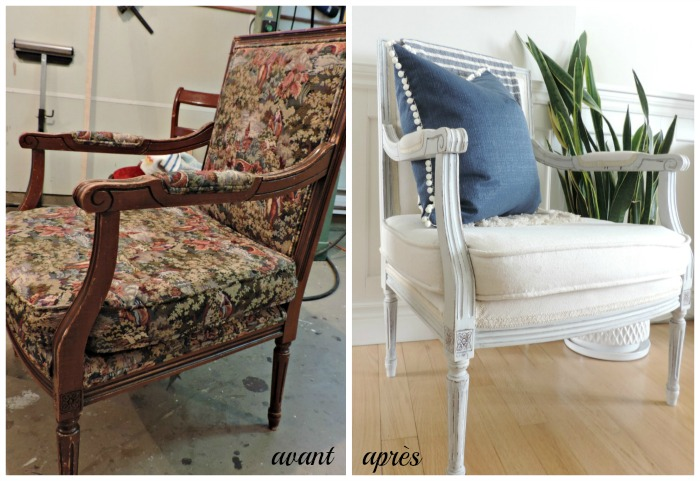 Transformation d'un fauteuil