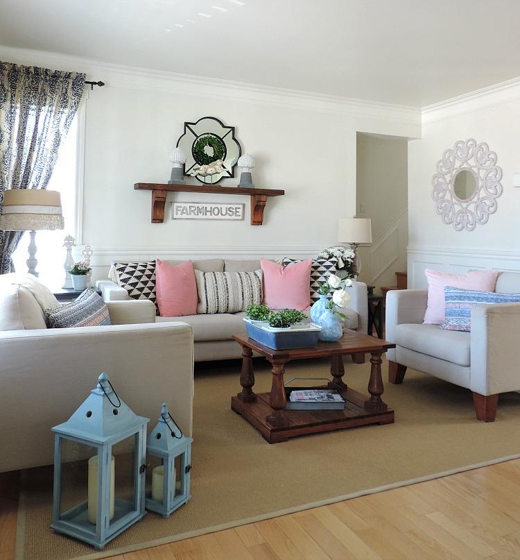 Mon salon au décor printanier - Rêver en couleur