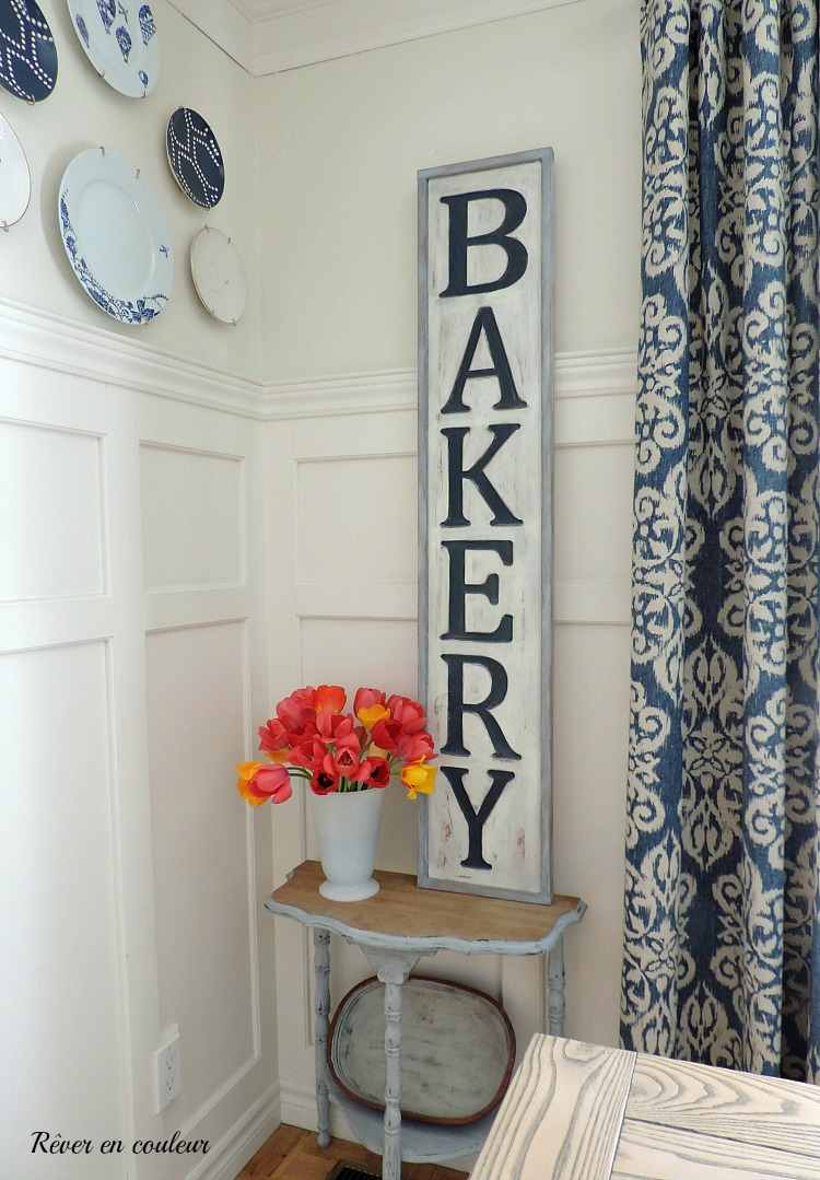 DIY-how to do an engraved wood bakery sign