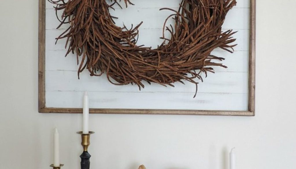 Fabriquer un cadre en bois (shiplap) pour moins de 10$