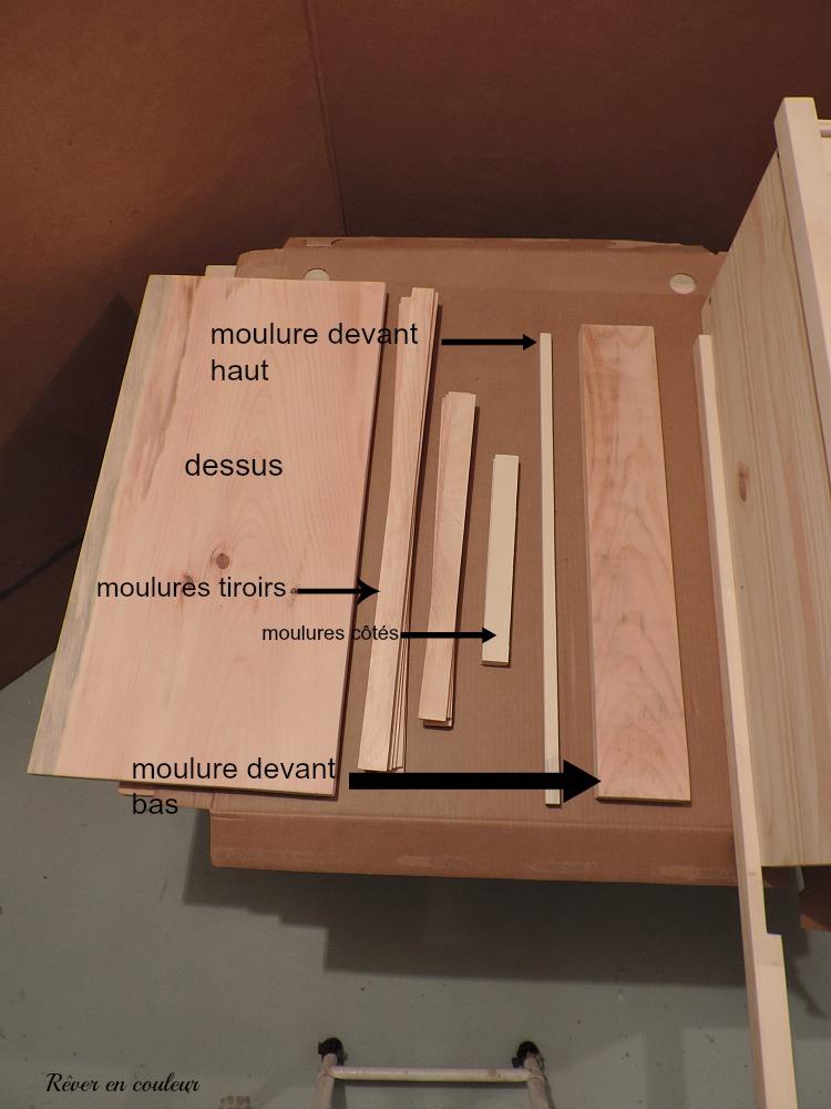 Nouvelle Commode Dans LEntre Ikea Rast Hack  Rver En Couleur