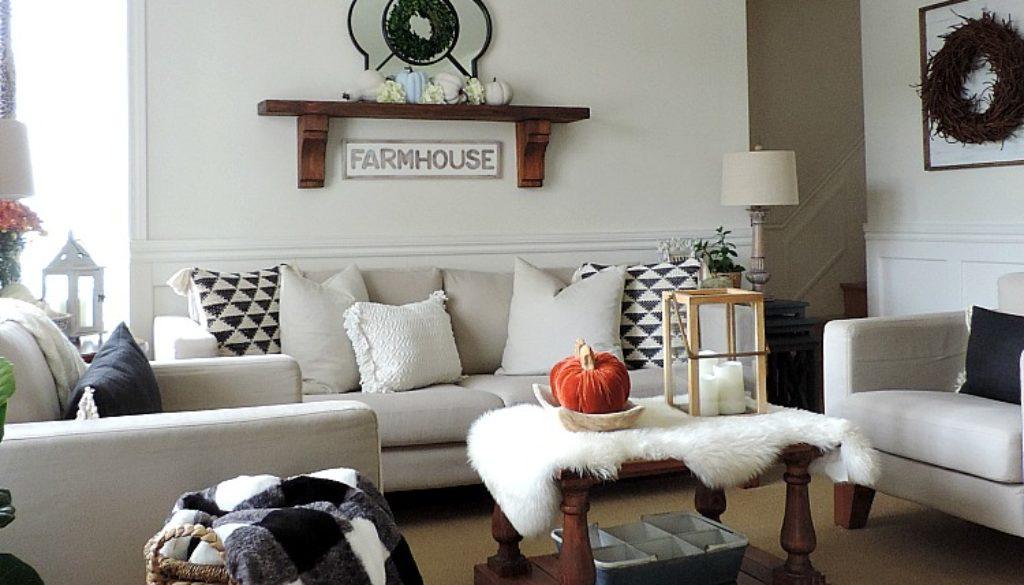 Fall In The Living Room, Salon à Lu0027automne