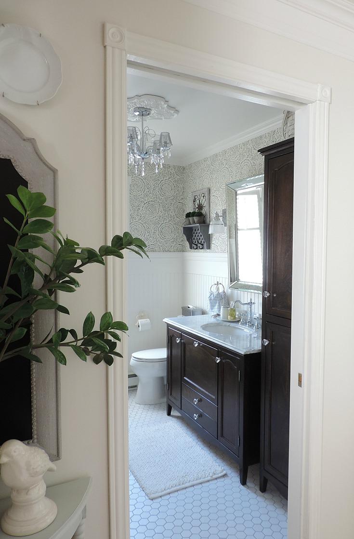Relooker Une Table De Toilette En Marbre relooker la salle de bain - rêver en couleur